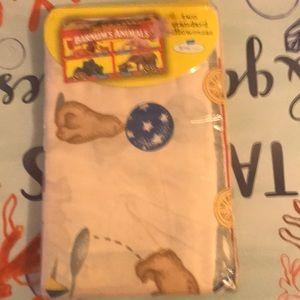 Animal crackers pillow cases. Bottom dollar item.